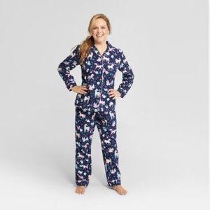 Wondershop Unicorn Christmas Holiday Pajamas